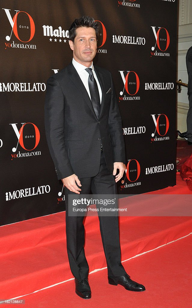 Jaime Cantizano attends 'Yo Dona' magazine mask party on February 18, 2013 in Madrid, Spain.