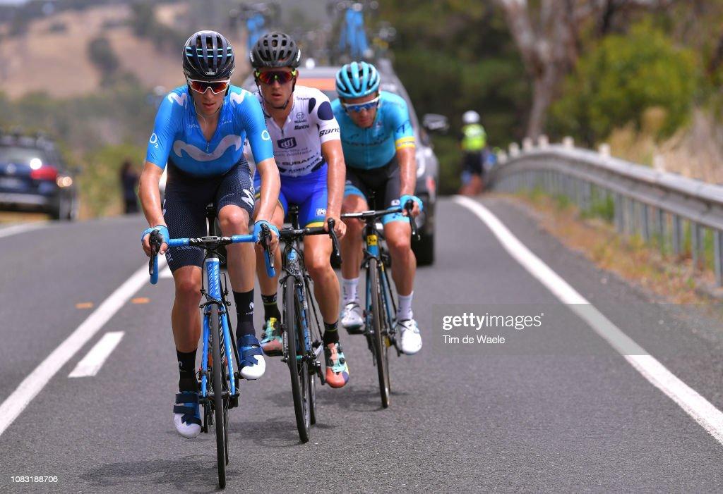 Jaime Castrillo of Spain and Movistar Team   Artyom Zakharov of ... 845a682a6