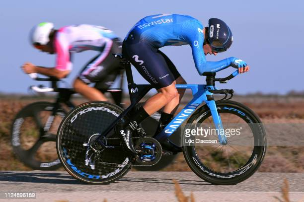 Jaime Castrillo of Spain and Movistar Team / during the 4th Tour de La Provence 2019 Stage 1 a 89km Individual Time Trial stage from Les Arenes to...