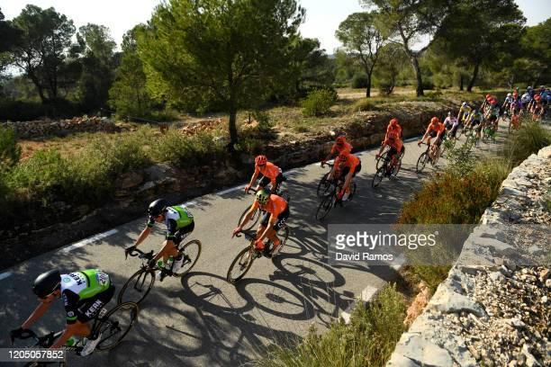 Jaime Castrillo of Spain and Team Equipo Kern Pharma / Urko Berrade of Spain and Team Equipo Kern Pharma / Greg Van Avermaet of Belgium and CCC Team...
