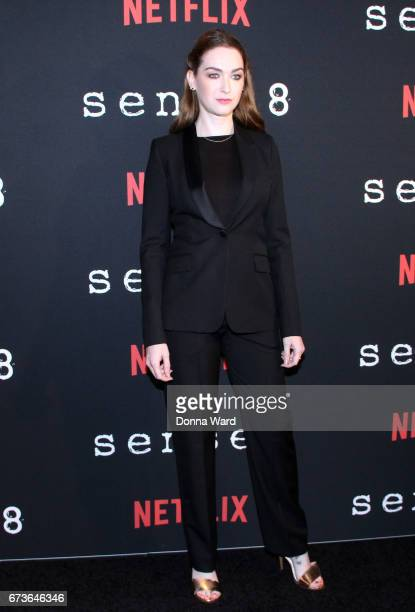 Jaime Clayton attends the Sense8 New York Premiere at AMC Lincoln Square Theater on April 26 2017 in New York City