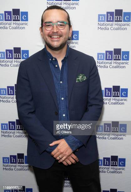 Jaime Davila attends the NHMC's 17th Annual Los Angeles Impact Awards luncheon at Hilton Universal City on August 22 2019 in Universal City California