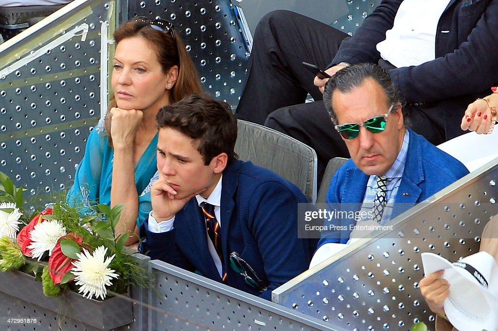Celebrities Attend Mutua Madrid Open : News Photo