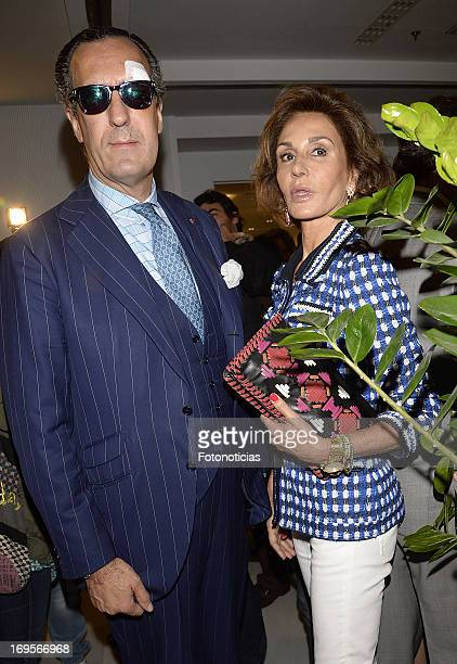 Jaime de Marichalar and Nati Abascal attend the launch of 'Enrique Ponce Un Torero Para La Historia' at the Club Siglo XXI on May 27 2013 in Madrid...