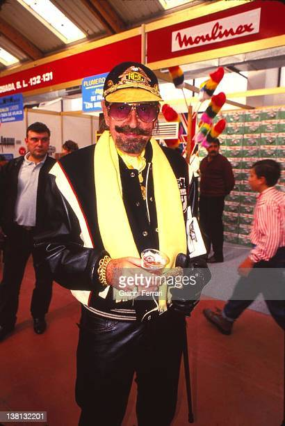 Jaime de Mora y Aragon brother of the Belgian Queen Fabiola in a Fair of Supply in Marbella 12nd November 1993 Malaga Spain