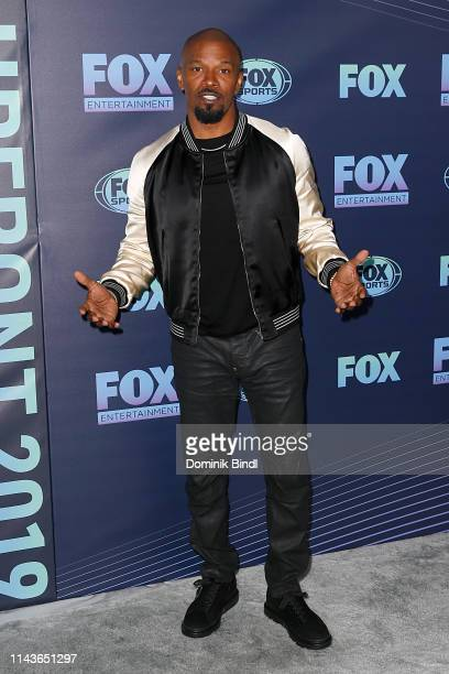Jaime Foxx attends the 2019 FOX Upfront at Wollman Rink Central Park on May 13 2019 in New York City