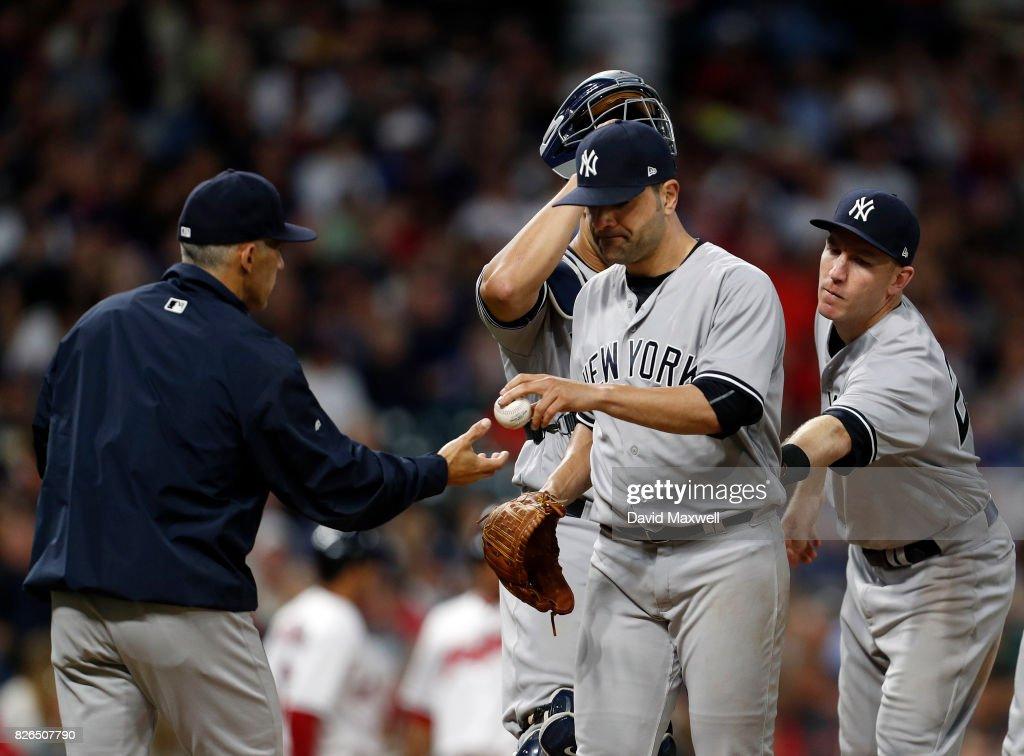 New York Yankees v Cleveland Indians : News Photo
