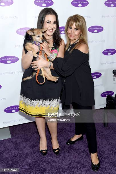Jaime Gleicher and Sheila Gleicher attend the Animal Haven Gala 2018 at Tribeca 360 on May 22 2018 in New York City