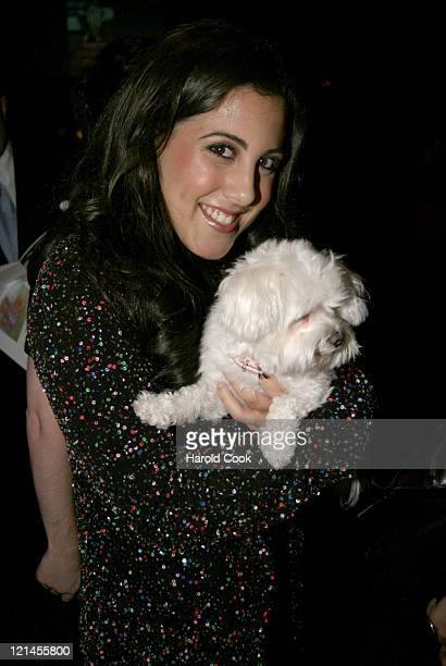 Jaime Gleicher during Animal Fair Magazine's 5th Annual Paws for Style Event at Club Black in New York City New York United States