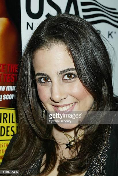Jaime Gleicher during FHM Magazine celebrates Jamie Lynn Discala's cover at Eugene on W 24th St in New York New York United States
