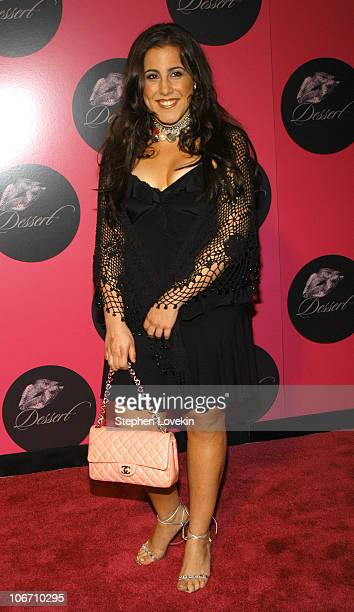 Jaime Gleicher during Jessica Simpson and Nick Lachey Host Dessert Beauty Launch Party Pink Carpet Arrivals at Marquee in New York City New York...