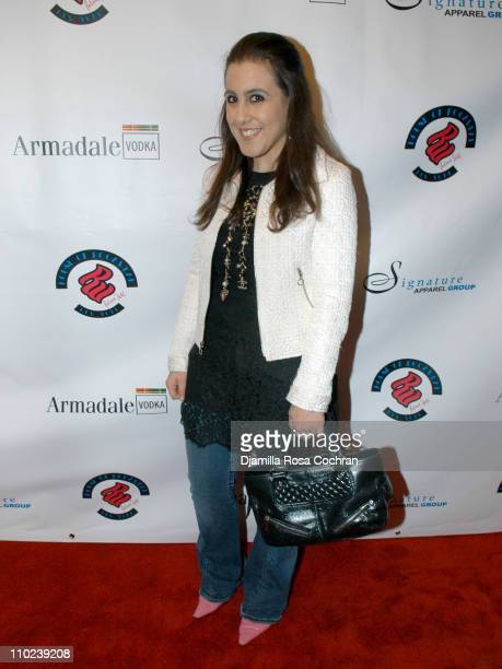 Jaime Gleicher during Patricia Field for the House of Rocawear Lounge at Ono at the Hotel Gansevort in New York City New York United States