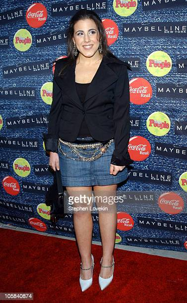 Jaime Gleicher during Teen People's 5th Annual What's Next Party at Crobar in New York City New York United States