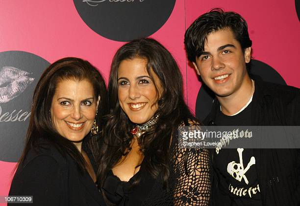 Jaime Gleicher with her mother and brother