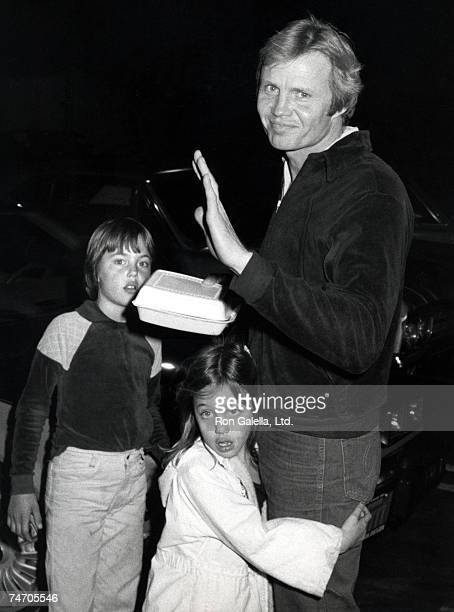 Jaime Haven Voight Angelina Jolie and Jon Voight at the Various Cities in Los Angeles California