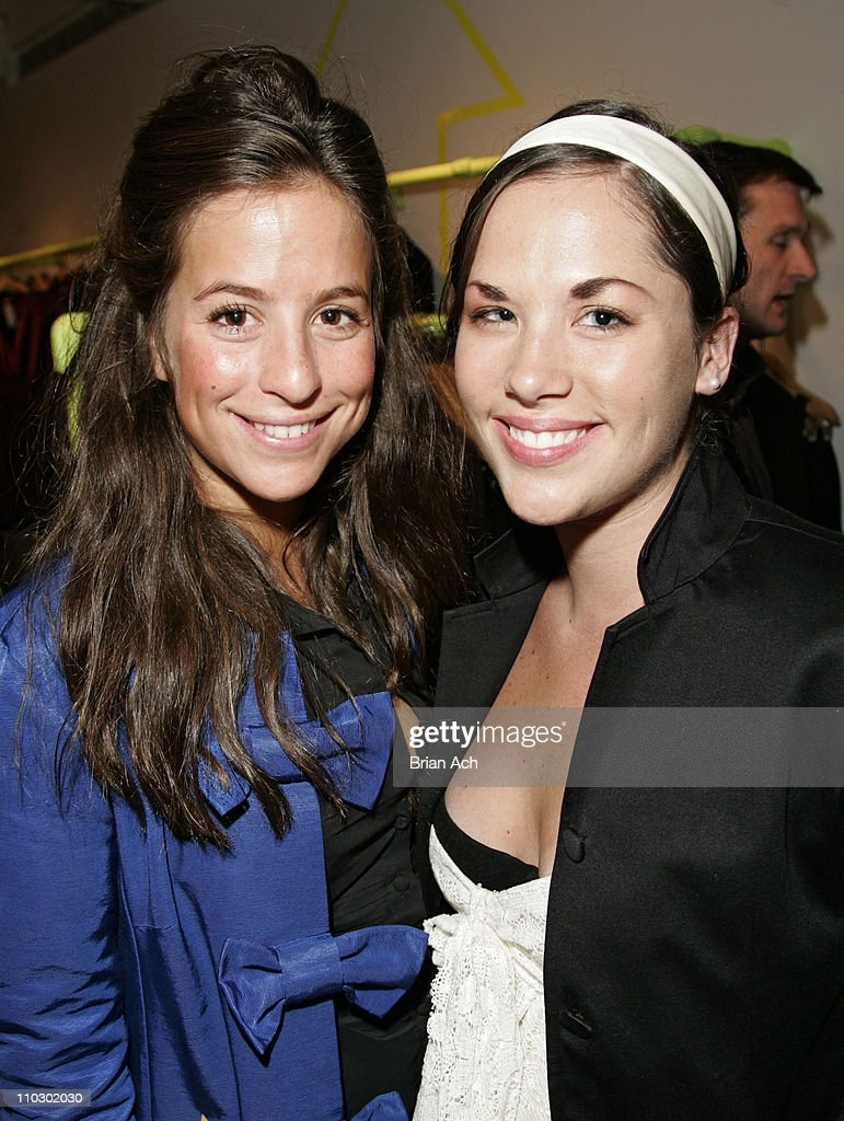 Jaime Himmel and guest during Gilda's Club Worldwide Young Leadership Council Benefit at the DKNY Flagship Store - September 28, 2006 at DKNY Fagship Store in New York City, New York, United States.