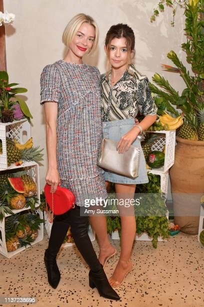 Jaime King and Addison Riecke attend the Ted Baker London SS'19 Launch Event at Elephante on March 20 2019 in Santa Monica California