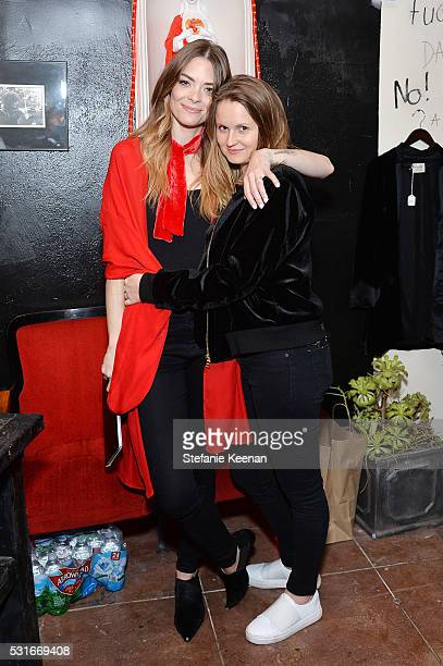 Jaime King and Annabelle Harron attend Jaime King Presents The Final Chapter on May 15 2016 in Los Angeles California