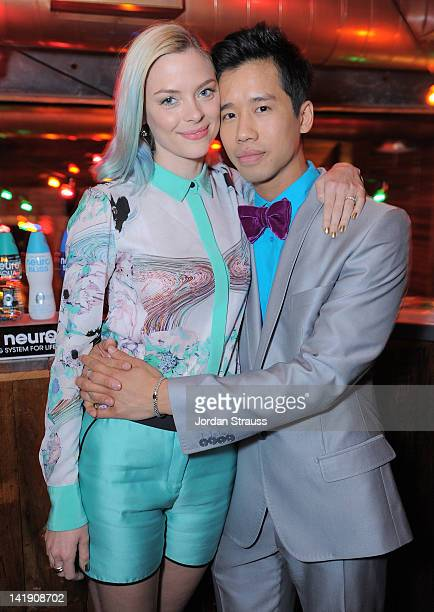 Jaime King and Jared Eng attend Just Jared's 30th at Pink Taco on March 23 2012 in Los Angeles California