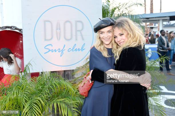 Jaime King and Juno Temple attend Christian Dior Cruise 2018 Welcome Dinner at Gladstone's Malibu on May 10 2017 in Malibu California