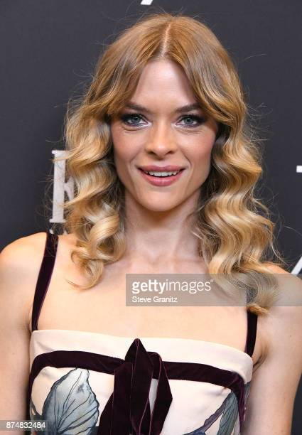 Jaime King arrives at the Hollywood Foreign Press Association And InStyle Celebrate The 75th Anniversary Of The Golden Globe Awards at Catch LA on...