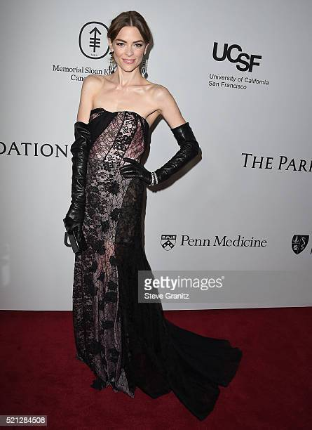 Jaime King arrives at the Sean Parker And The Parker Foundation Launch The Parker Institute For Cancer Immunotherapy Gala on April 13 2016 in Los...