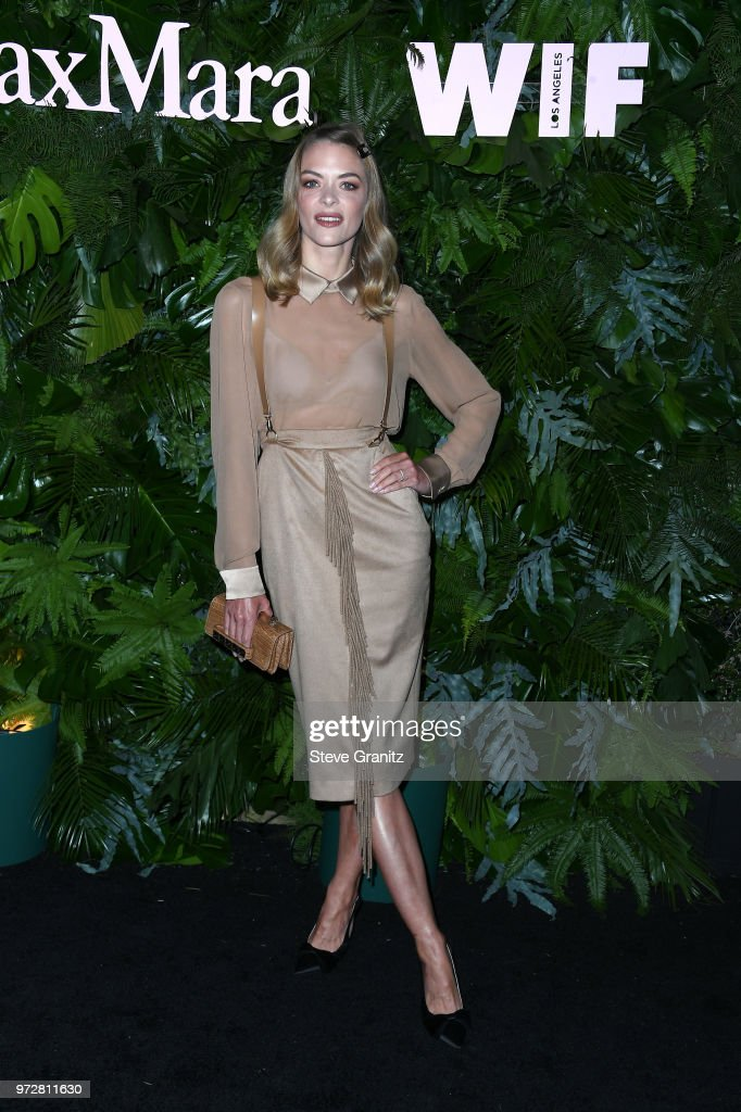 Jaime King attends Max Mara WIF Face Of The Future at Chateau Marmont on June 12, 2018 in Los Angeles, California.