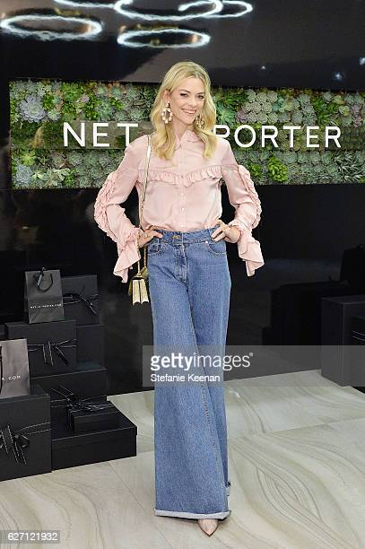 Jaime King attends NETAPORTER New Designers Cocktail on December 1 2016 in Los Angeles California