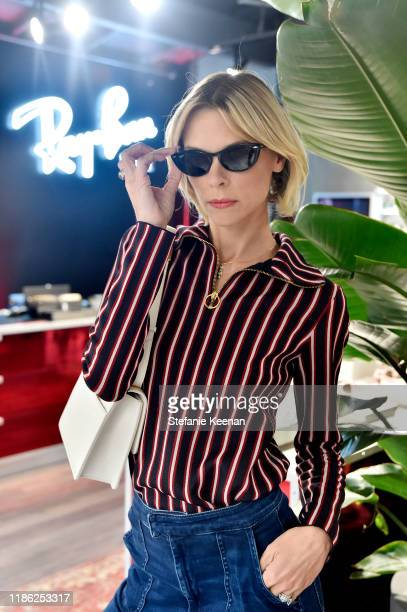 Jaime King attends Ray-Ban Venice Store Opening Event on November 07, 2019 in Venice, California.