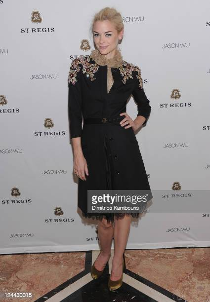 Jaime King attends St. Regis Hotels & Resorts Celebrates the Announcement of Jason Wu As The Next St. Regis Connoisseur and Jason Wu's Spring/Summer...