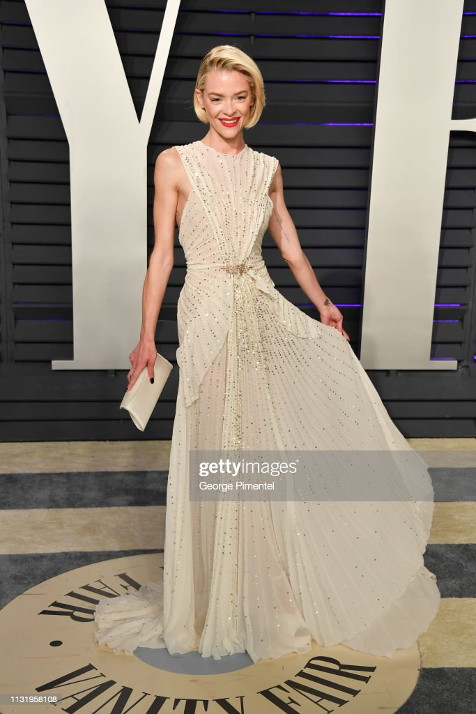 Jaime King Attends The 2019 Vanity Fair Oscar Party Hosted By Radhika Foto Jornalistica Getty Images