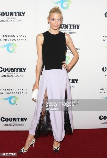 Jaime King attends the Annenberg Space for Photography Opening Celebration for 'Country Portraits of an American Sound' at the Annenberg Space for...