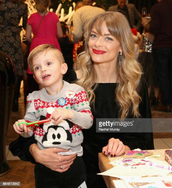 Jaime King attends the Brooks Brothers holiday celebration with St Jude Children's Research Hospital at Brooks Brothers Rodeo on December 2 2017 in...
