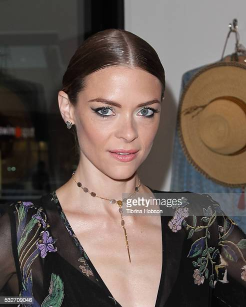 Jaime King attends the Chan Luu flagship boutique opening at Chan Luu on May 18 2016 in Santa Monica California