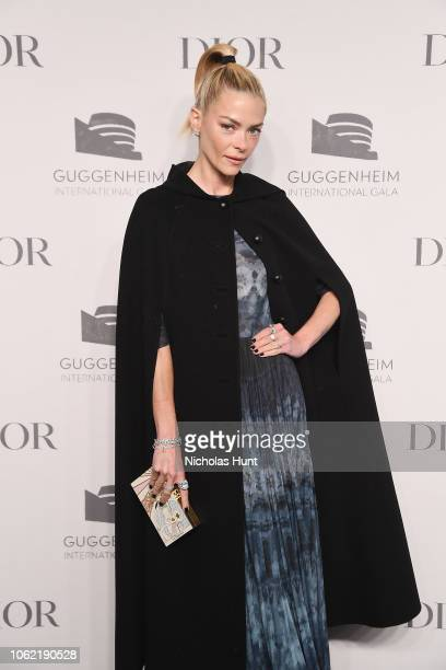 Jaime King attends the Guggenheim International Gala Dinner made possible by Dior at Solomon R Guggenheim Museum on November 15 2018 in New York City