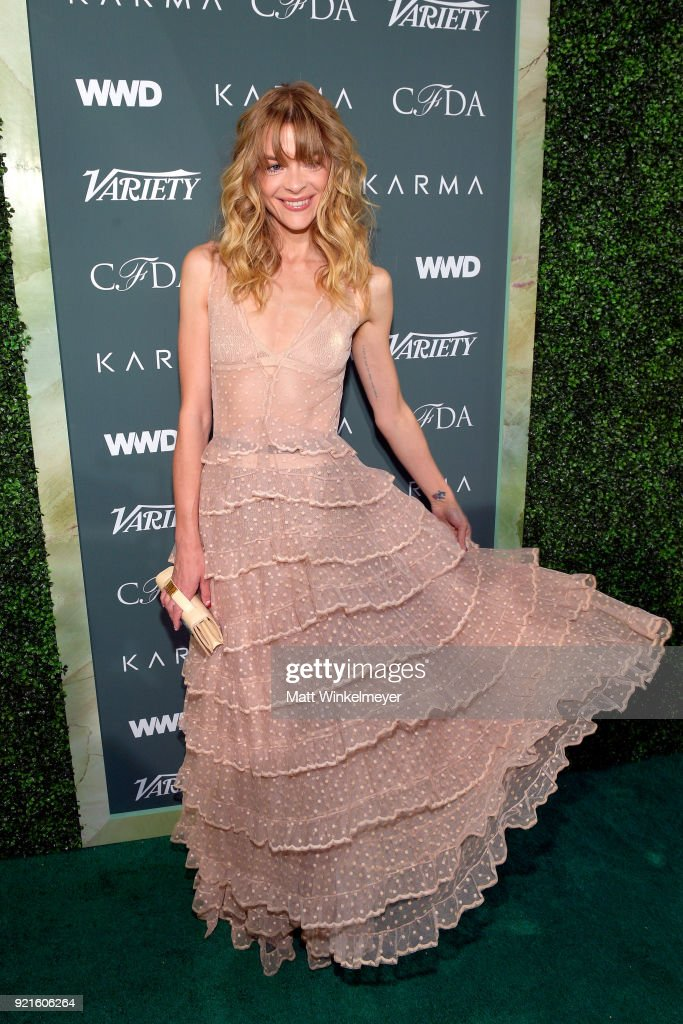 Jaime King attends the Runway To Red Carpet, hosted by Council of Fashion Designers of America, Variety and WWD at Chateau Marmont on February 20, 2018 in Los Angeles, California.