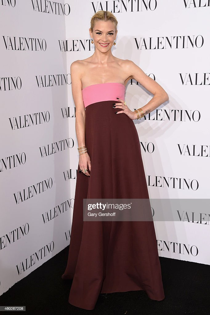 Jaime King attends the Valentino Sala Bianca 945 Event on December 10, 2014 in New York City.