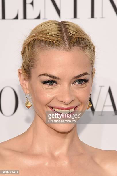 Jaime King attends the Valentino Sala Bianca 945 Event on December 10 2014 in New York City
