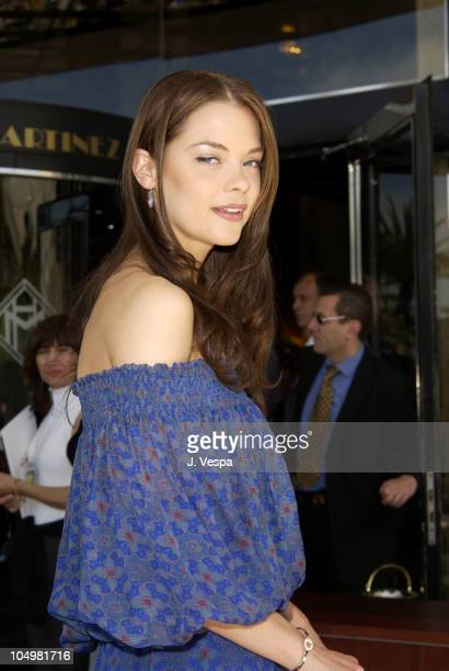 """Jaime King during Cannes 2002 - """"Bulletproof Monk"""" Photo Call at Martinez Hotel in Cannes, France."""