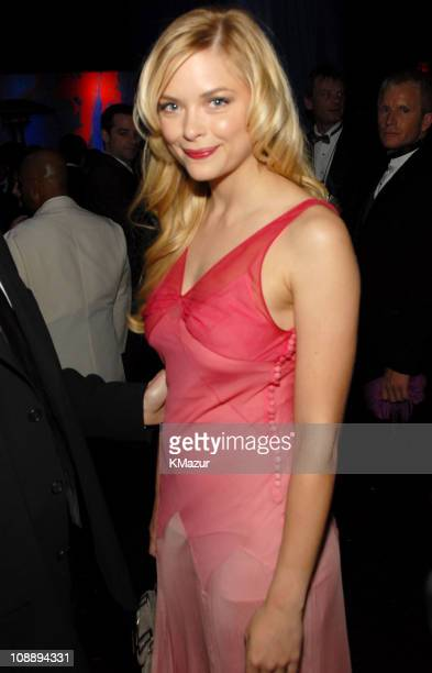 Jaime King during InStyle & Warner Bros. 2006 Golden Globes After Party - Inside at Beverly Hilton in Beverly Hills, California, United States.