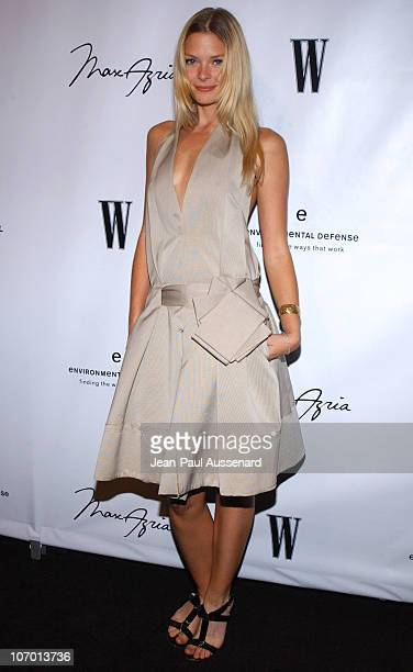 Jaime King during Max Lubov Azria Eva Mendes and W Host Unveiling of Artist Patrick Dougherty's Art Installation in Los Angeles Arrivals at Max Azria...
