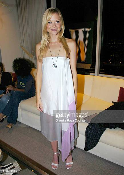 """Jaime King during W Magazine's """"The New York Affair"""" Party at Penthouse Four in New York City, New York, United States."""