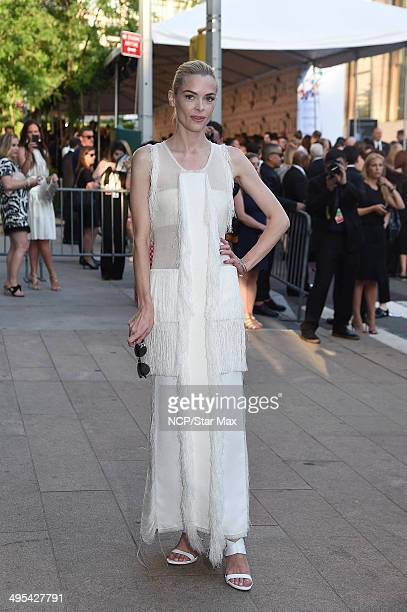 Jaime King is seen on June 2 2014 arriving at The 2014 CFDA Fashion Awards in New York City