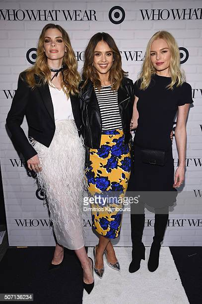 ff03a4c55d Jaime King Jessica Alba and Kate Bosworth attend Who What Wear x Target  launch party at