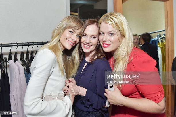 Jaime King Lesley Ann Warren and Amanda de Cadenet attend Conde Nast The Women March's Cocktail Party to Celebrate the One Year Anniversary of the...