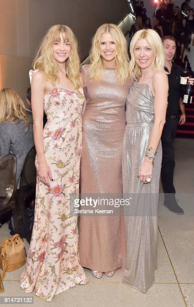 Jaime King Sarah Wright and Shelley Gibbs attend Rachel Zoe Fall 2018 LA Presentation on February 5 2018 at The Jeremy Hotel in West Hollywood...