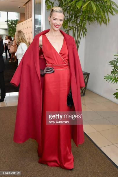 Jaime King wearing Max Mara attends the 2019 Women In Film Annual Gala Presented by Max Mara with additional support from partners Delta Air Lines...