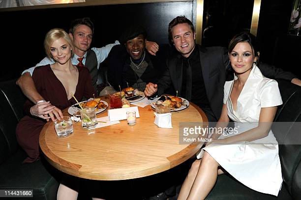 Jaime King Wilson Bethel Cress Williams Scott Porter and Rachel Bilson attend the CW Network's 2011 Upfront party at Hurricane Club on May 19 2011 in...