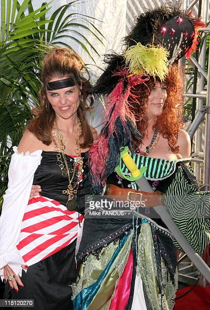Jaime Lee Curtis hosts the Children Affected by AIDS Foundation 13th Annual Dream Halloween Fundraising Event at Barker Hangar of the Santa Monica...