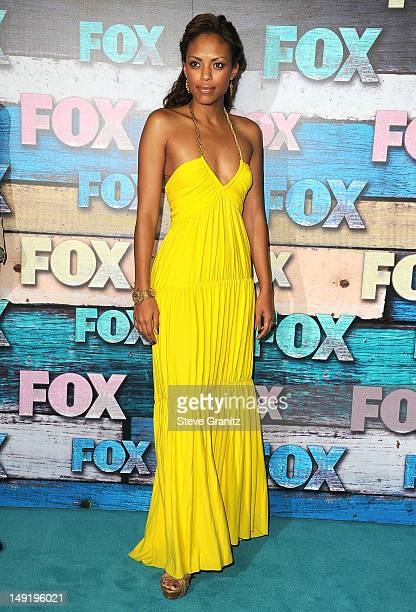 Jaime Lee Kirchner arrives at the FOX AllStar Party on July 23 2012 in West Hollywood California